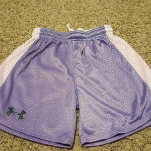 UNDER ARMOUR PURPLE PINK SHORTS XS NEW